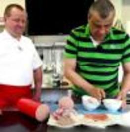 Peklo na talíři - Výrobní salám
