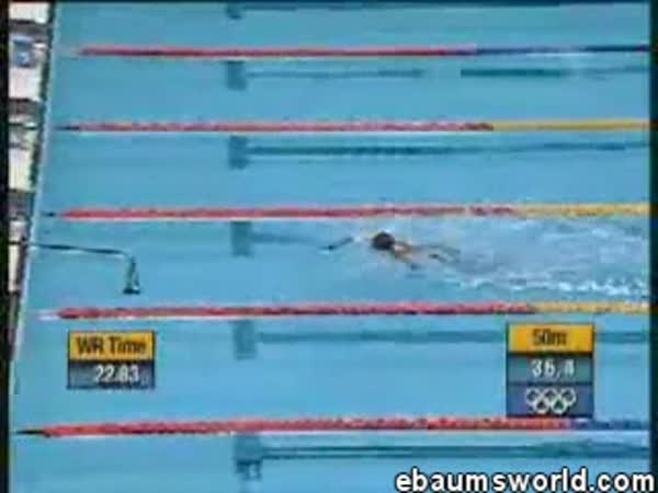 Sydney 2000 - zajímavé plavání