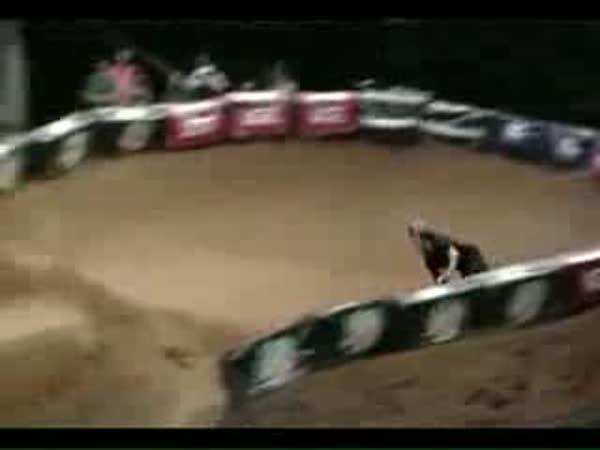 BMX - double backflip