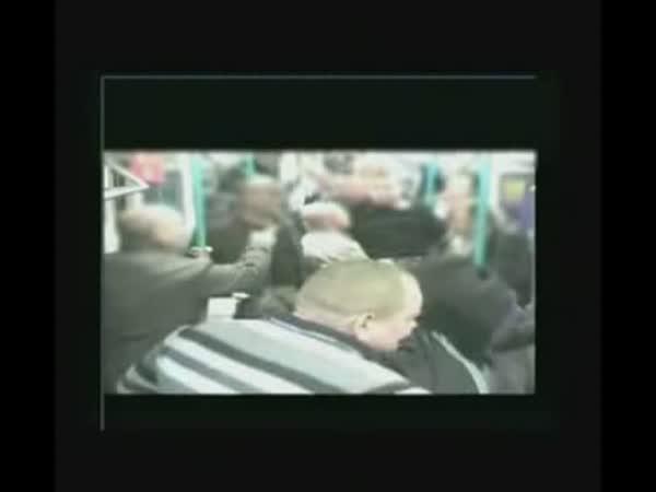 Middlesbrough vs. Chelsea - rvačka fanoušků