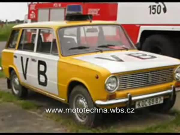 Česká policejní auta - historie