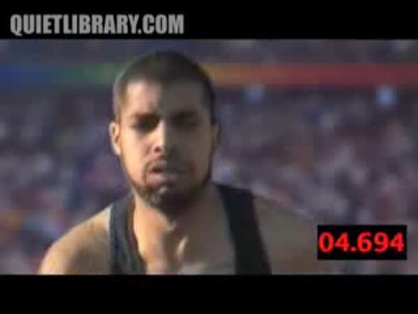 Usain Bolt - 100m - rekord [parodie]
