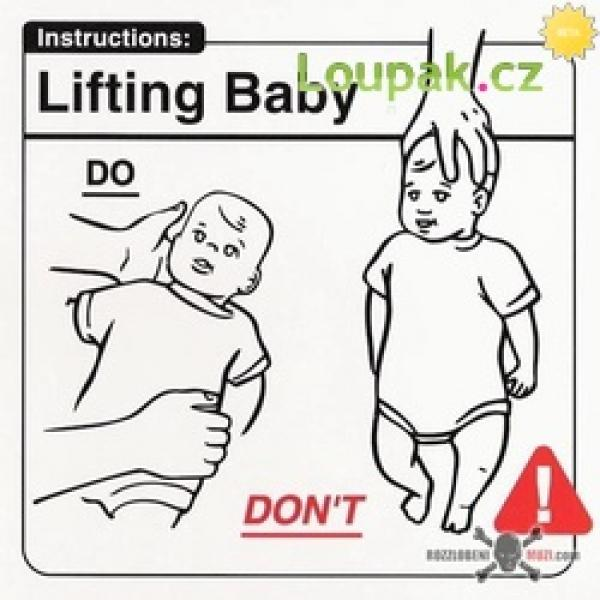 Jak se chovat k miminku