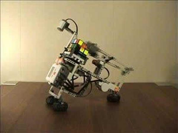 Lego a Rubikova kostka