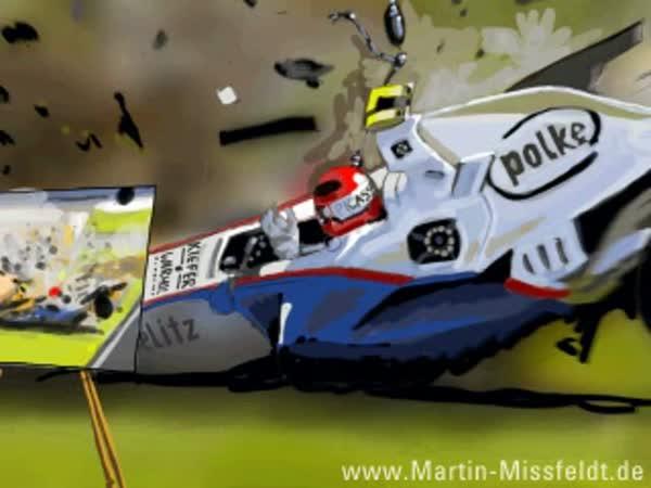 Kreslení - F1 nehoda