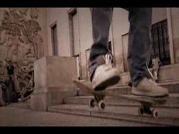 Skateboarding - slow motion