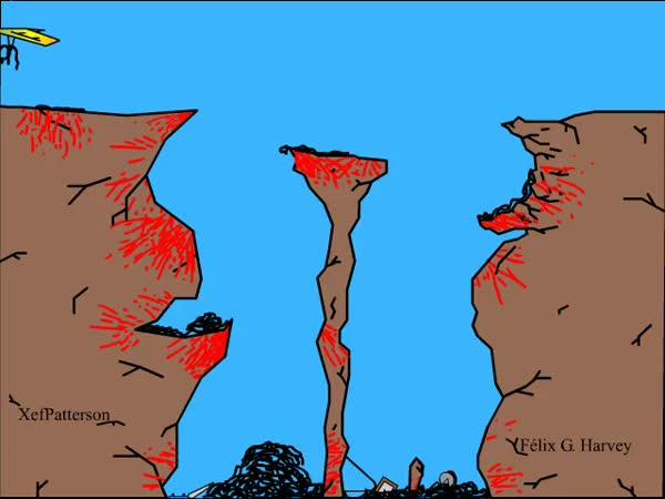 Tha Cliff 2 - krvavá animace