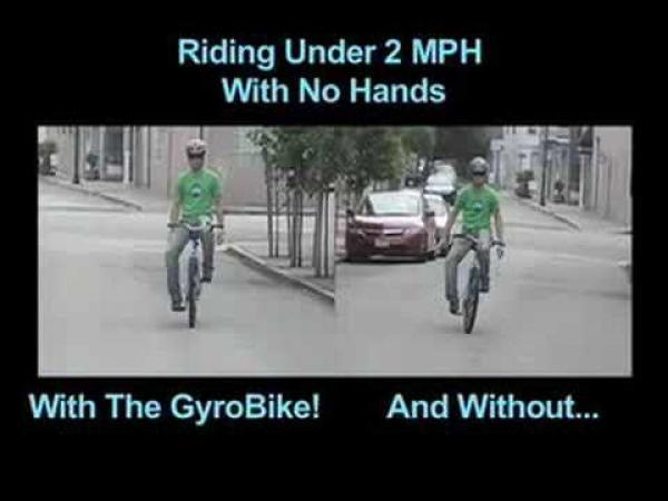 GyroBike- Super stabilní kolo