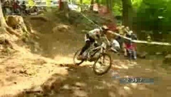 Downhill WC 2008 - Sam Hill
