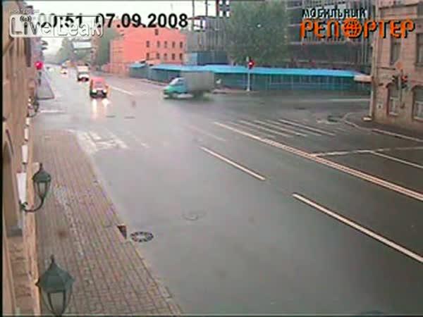 Dopravní nehoda na křižovatce II.