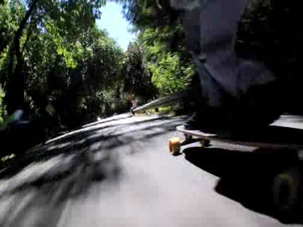 Skateboarding - downhill