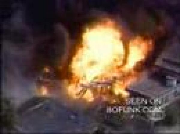 Výbuch čerpací stanice