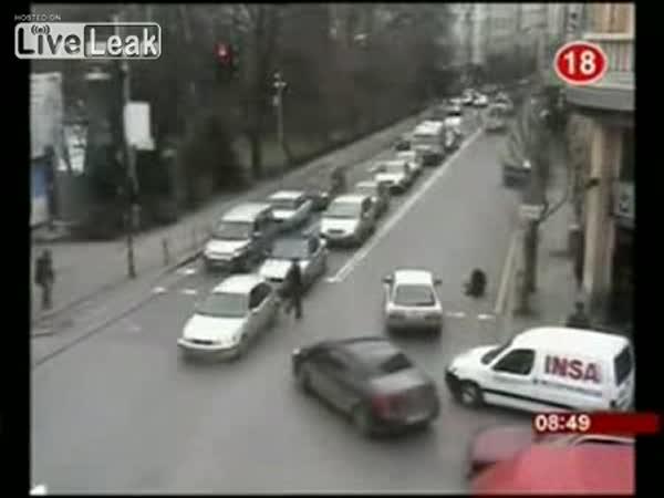 Bulharsko - nehody na křižovatce [kompilace]