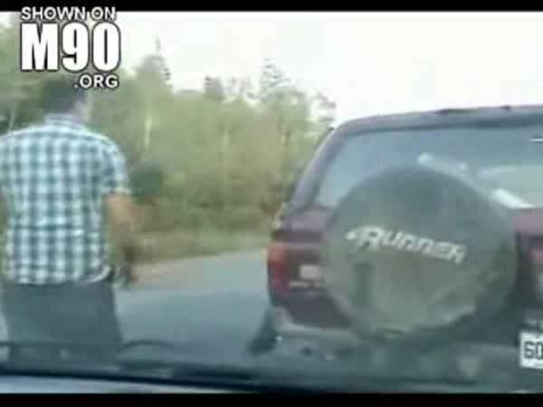 Když se na Vás rozzlobí řidič