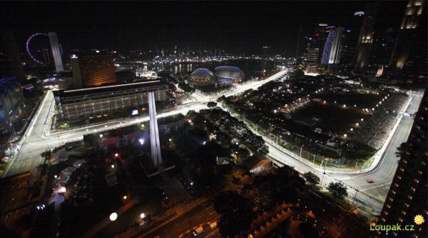 F1 - Velká cena - Singapour