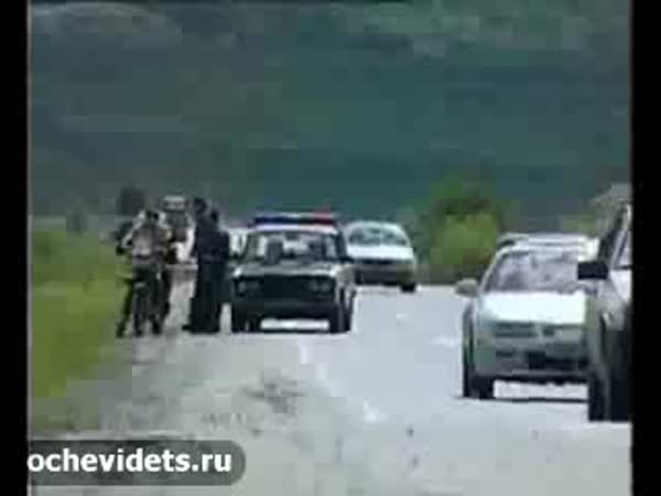 Rusko - dopravní policie