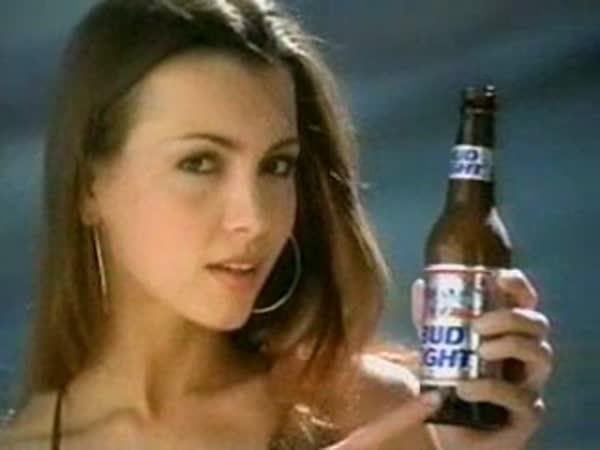 Reklama na pivo - u zlatníka