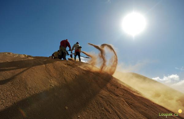 Madagaskar - těžba vzácných kovů