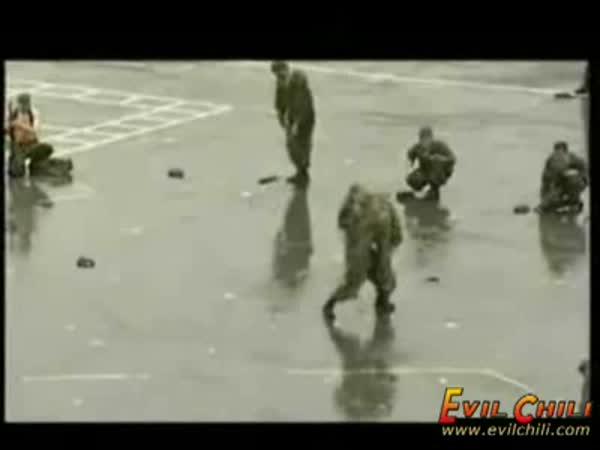 Rusko - tvrdý výcvik armády