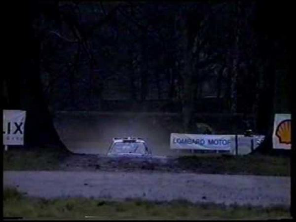 Rally - Lancia Delta Integrale [vzpomínka]