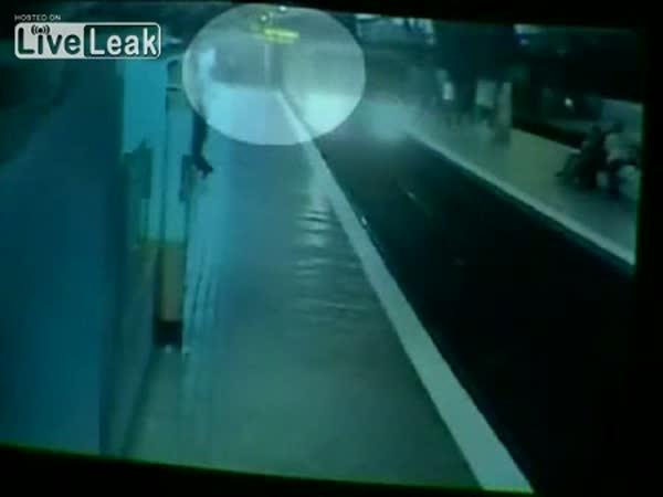 Španělsko - vražda v metru
