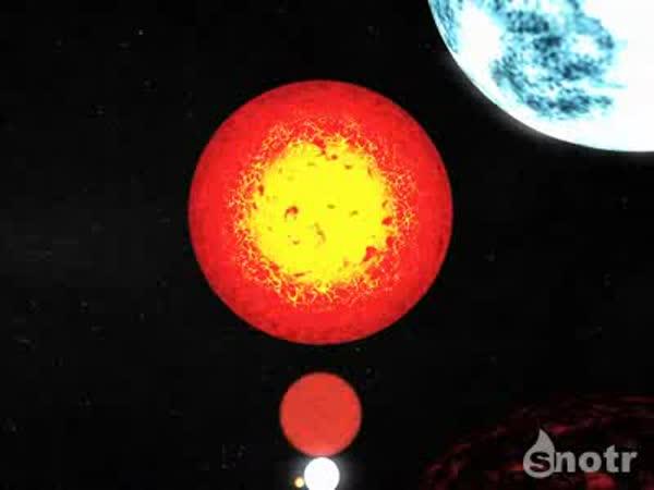 VĚDA - Velikost Země ve vesmíru