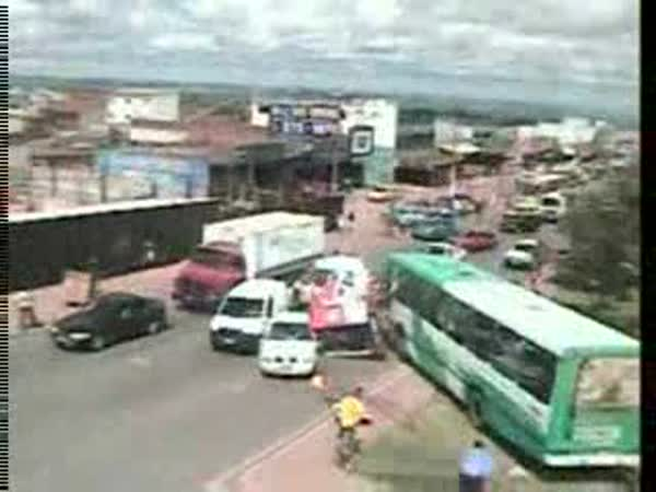 Mikrospánek a řidič autobusu
