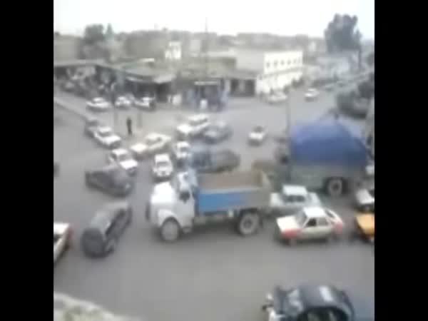 Irák - přehledná křižovatka