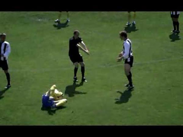 Reklama na rugby - parodie fotbalu