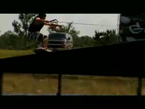 Wakeboarding - nehody [kompilace]