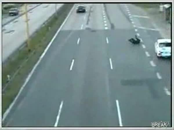 Sváteční řidič na silnici - nehoda