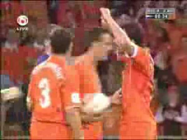 Ruud Van Nistelrooy - výsměch