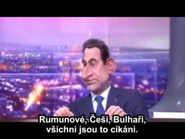 Sarkozy se naváží do Čechů