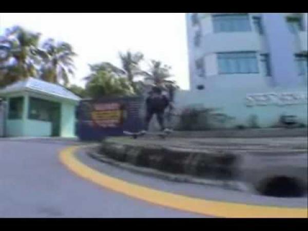 Malý skateboardista - 8 let