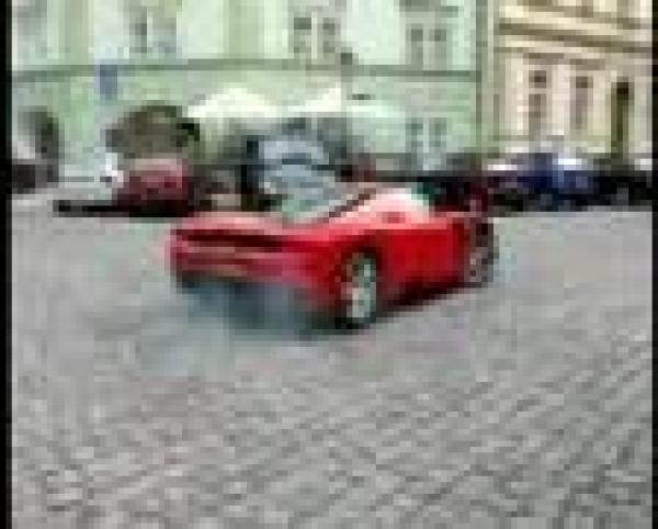 Ferrari Enzo - návštěva Prahy