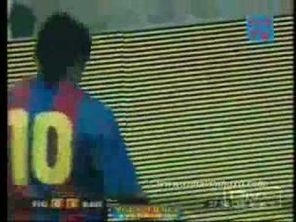 Přímé kop - Ronaldinho vs. Beckham