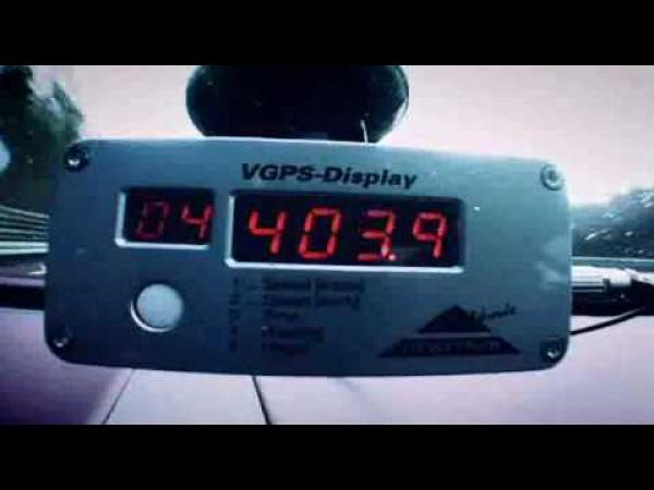 Buggati - 407 km/h - světový rekord