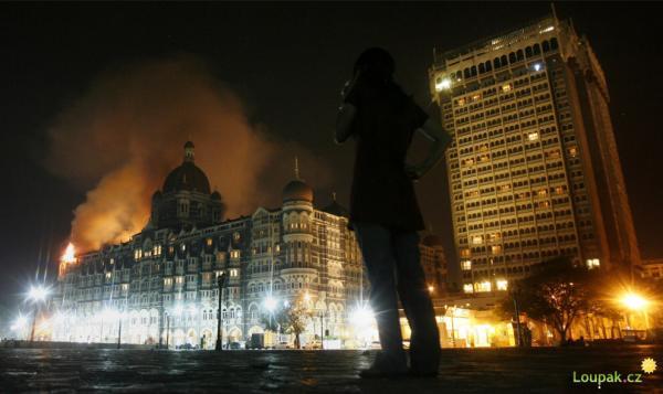 Indie - Bombaj - teoristické útoky