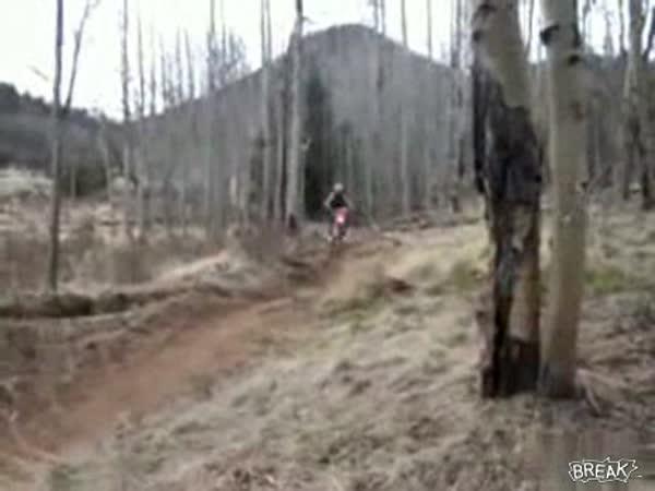 Motocross - začátečnický skok