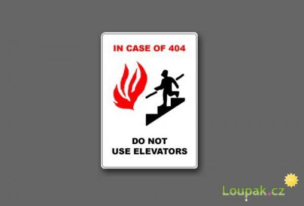 Chybové hlášky 404