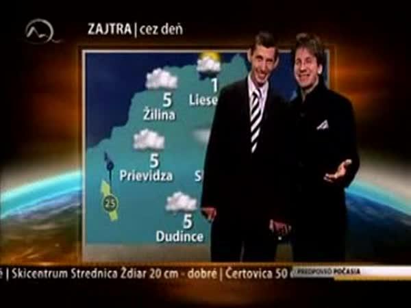 Markíza - nový profi moderátor počasí