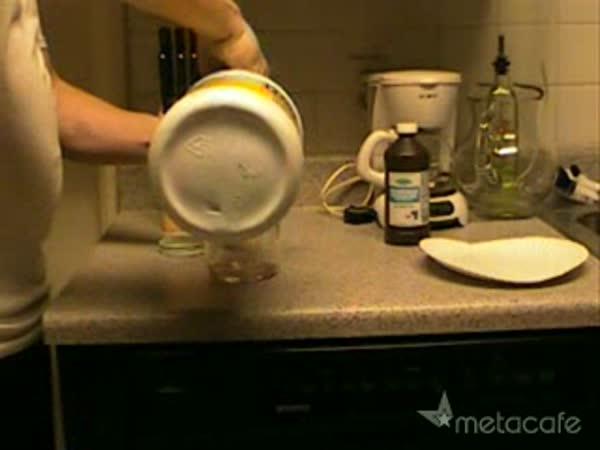 Návod - svíticí tekutina