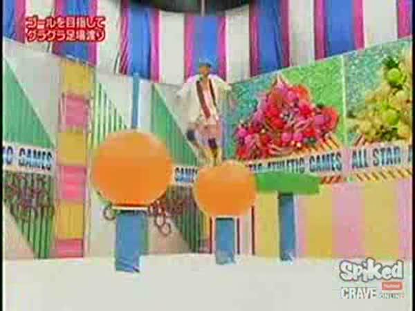 Japonská zábava - opičí dráha