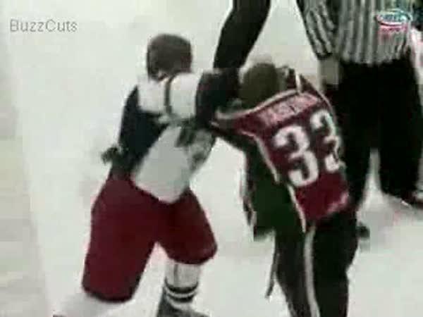 Hokej - Nejlepší bitka v roce 2008