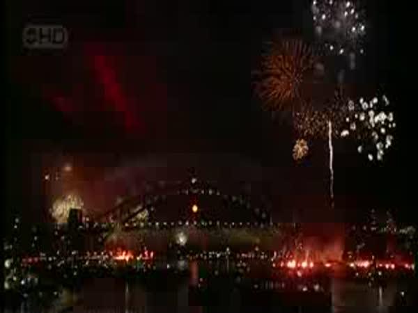 Sydney - Vítání roku 2009
