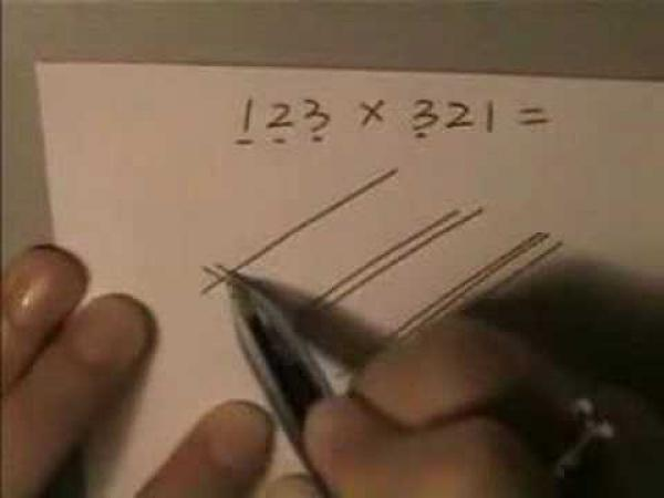 Matematika - čínská násobilka