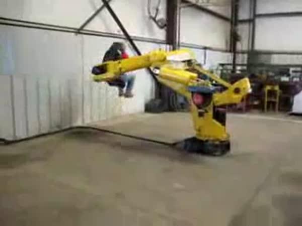 Robot - atrakce v práci