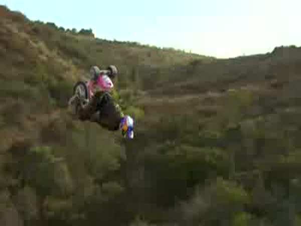 Travis Pastrana na tříkolce