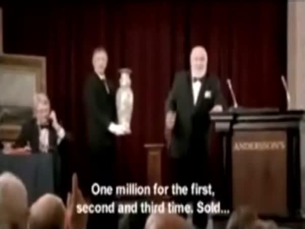vydařená aukce za milion