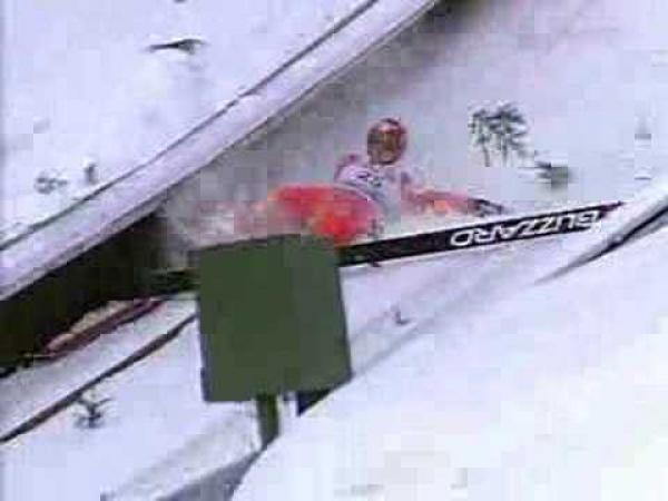 Skoky na lyžích - Wolgang Loitzl a rozjezd